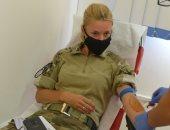 """""""قوات حفظ السلام """" فى لبنان تتبرع بالدم للمصابين فى انفجارات بيروت"""