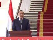 رئيس الوزراء ينقل تحية الرئيس السيسى لقيادات مجلس السيادة السوداني