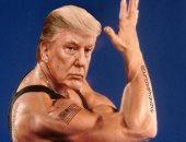 رأس ترامب وجسد فان دام.. ابن الرئيس الأمريكى يدعمه بصورة فوتوشوب