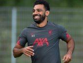 ابتسامة محمد صلاح تزين تدريبات ليفربول استعداداً للموسم الجديد