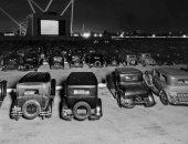 اعرف قصة أول سينما سيارات في لوس أنجلوس وسعر التذكرة