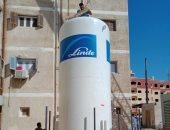 تركيب تانك أكسجين لمستشفى حميات الغردقة بـ1.5 مليون جنيه