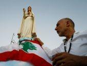 رسالة محبة وتضامن مع بيروت الجريحة ..صلاة بالشموع من أجل لبنان
