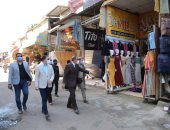 محافظ كفر الشيخ يغلق المحال المتعدية على الشوارع لمدة أسبوع
