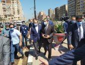وزير التنمية المحلية يتفقد المرحلة الثانية لتطوير كورنيش المرشحة بطنطا