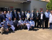 الخشت: 8 أطباء من أساتذة طب قصر العينى ضمن الفريق الطبى لتقديم الدعم للبنان