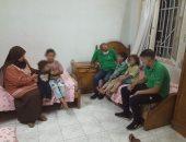 """التضامن: فريق """"أطفال بلامأوي"""" ينقذ 4 أطفال ببنى سويف وينقلهم لمركز استضافة"""