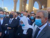 لبنانيون يزورون قبر الحريري تزامنا مع الحكم في اغتيال رئيس الوزراء الأسبق..صور