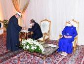 الرئيس السيسي يشهد حفل عقد قران ابنة صديقه الراحل.. صور