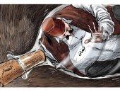 كاريكاتير صحيفة سعودية.. الفساد يحبس لبنان