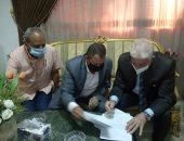 محافظ جنوب سيناء يصدق على عقود تقنين وضع يد و11 حالة تصالح مخالفات بناء