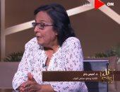 لميس جابر لـ خالد أبو بكر: السيسى يعمل بسرعة شديدة ومحدش عارف يلحقه