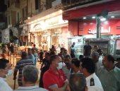 صور.. حى ثان المحلة ينفذ حملة مكبرة لإزالة الإشغالات بالشوارع