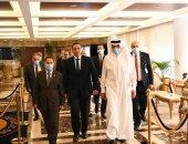 سفير السعودية بالقاهرة: سعدت بزيارة الرقابة المالية والإطلاع على أنشطتها وإنجازاتها