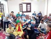 """دار رعاية تحتفل بمجموعة من المسنين تحت شعار """"كلنا اهلك"""" في الجيزة"""