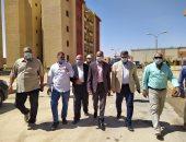 صور.. نائب وزير الإسكان يتفقد خطى المياه المغذيين للعاصمة الإدارية الجديدة