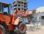 فيديو وصور .. محافظ كفر الشيخ: إزالة 21 حالة تعدى على مساحة 8519 متراً ببلطيم وقراها