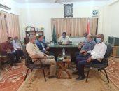 رئيس مركز كفر شكر يشكيل لجان للمرور بالقرى والمدينة لرصد المشكلات وتقديم حلول لها