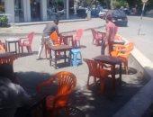 رفع إشغالات وغلق وتشميع كافيهات مخالفة بالمعادى وطرة جنوب القاهرة