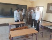 مدارس أسوان تستعد لإمتحانات الدور الثانى للثانوية العامة .. صور