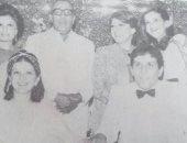 صورة نادرة من حفل زفاف ابنة شويكار بحضور فؤاد المهندس وميرفت أمين
