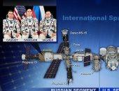 تسرب الهواء على محطة الفضاء الدولية ولجوء الرواد للقسم الروسى