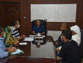 محافظة مرسى مطروح تناقش ضوابط وشروط المنح الدراسية بالجامعات الخاصة