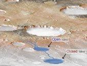 اكتشاف أدلة عن تعرض كوكب المريخ للفيضانات فى الماضى