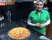 """طريقة عمل الفطير المشلتت بشكل جديد.. طبقات جلاش رائعة من مطبخ رانيا النجار """"فيديو"""""""