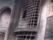فيديو هدم المحتجين العراقيين لمنزل مسئول ميليشيات حزب الله فى الناصرية.. فيديو