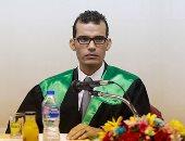 الزميل أحمد إبراهيم الشريف يحصل على درجة الدكتوراه فى جامعة عين شمس.. صور
