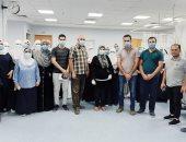 صور..بدء تشغيل العناية المركزة بمستشفى قلين فى كفر الشيخ