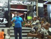 مصادرة 12 شيشة خلال حملة على مقاهى مدينة ههيا