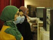 150 طالبا يسجلون رغباتهم فى المرحلة الأولى للتنسيق بجامعة المنيا.. صور