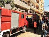 النيابة تنتدب المعمل الجنائى لمعاينة موقع حريق شب داخل 3 محلات فى السلام