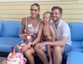 صور جديدة من احتفال إيريك ترامب بعيد ميلاد طفلته كارولينا مع زوجته لارا
