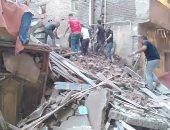 النيابة العامة تحقق فى واقعة انهيار عقار بطنطا وتتحفظ على ملف المبنى