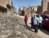 نائب محافظ القليوبية تتفقد المحطة الوسيطة للقمامة بالخصوص ونقاط تجمع القمامة
