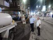 محافظ أسيوط: البدء فى كشط شارع النميس بحى شرق تمهيداً لرصفه.. صور