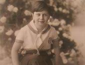 صورة نادرة للملك فاروق فى عمر 10 سنوات عندما كان وليا للعهد وأميرا للصعيد