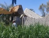 صور.. إزالة 28 حالة تعدى على أراض زراعية بمساحة 5 أفدنة و16 قيراط بالأقصر