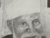 """""""السيد"""" يشارك برسومات للشهيد المنسى والشيخ الشعراوى وإسماعيل ياسين"""