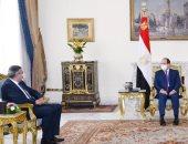 السيسي يستعرض لأمين عام السياحة العالمية إجراءات مصر لاستئناف حركة السياحة