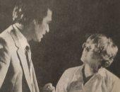 """علوية زكى مع محمود ياسين بكواليس تصوير """"ميراث الغضب"""" × صورة من 39 سنة"""