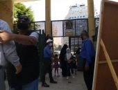 صور.. حديقة حيوان الجيزة تشترط الدخول بعد كشف الحرارة على منافذ بيع التذاكر