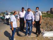 محافظ الشرقية يقود حملة لإزالة الإشغالات ورفع القمامة فى بلبيس