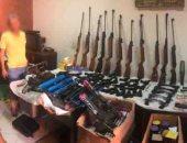 الداخلية تضبط ورشة لتصنيع الأسلحة النارية في الغربية