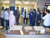 لجنة الأعلى للجامعات تتفقد الاستعدادات النهائية بكلية التربية النوعية بسوهاج