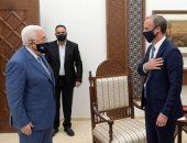 الرئيس الفلسطينى خلال لقائه وزير خارجية بريطانيا: لا سلام دون إنهاء الاحتلال