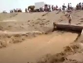 التحالف العربى يدمر تعزيزات للحوثيين فى محافظة الجوف باليمن